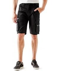 GUESS GUESS Zip-Flap Cargo Shorts - jet black