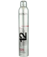 Redken Fashion Work 12 400ml Lak na vlasy W Lak na vlasy pro pružnost