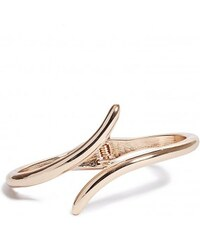 GUESS GUESS Gold-Tone Metal Hinge Bracelet - gold