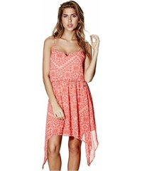 GUESS GUESS Fionna Caged Dress - hot coral