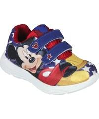 Disney Brand Chlapecké tenisky Mickey Mouse - červeno-modré