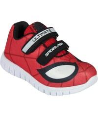 Disney Brand Chlapecké tenisky Spiderman - červené