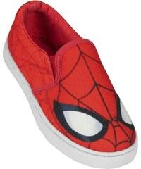 Disney Brand Chlapecké nazouvací tenisky Spiderman - červené
