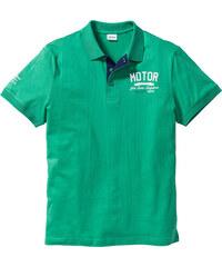 John Baner JEANSWEAR Polo Regular Fit vert manches courtes homme - bonprix