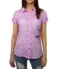 Dámská košile Soccx SPI-1603-5025 růžová