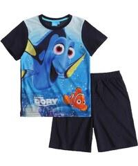 Disney Findet Dorie Shorty-Pyjama marine blau in Größe 98 für Jungen aus 100% Baumwolle Vorderseite: 100% Polyester
