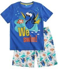 Disney Findet Dorie Shorty-Pyjama blau in Größe 98 für Jungen aus 100% Baumwolle