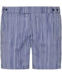 Frescobol Carioca - Tracos Badeshorts Tailored für Herren