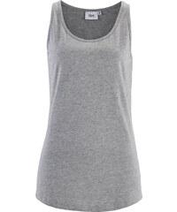 bpc bonprix collection Top en jersey gris sans manches femme - bonprix