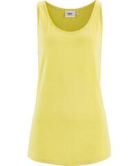 bpc bonprix collection Top en jersey jaune sans manches femme - bonprix