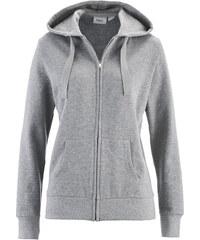 bpc bonprix collection Gilet sweatshirt gris manches longues femme - bonprix