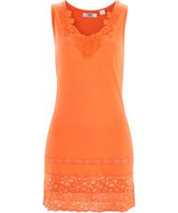 bpc bonprix collection Top long extensible orange sans manches femme - bonprix