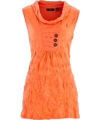 bpc bonprix collection Top froissé orange sans manches femme - bonprix