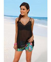 bpc selection T-shirt de plage noir femme - bonprix