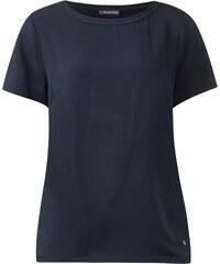 Street One Weites Rundhals-Shirt Debora - blau, Damen