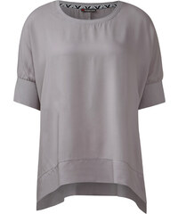 Street One - Bluse Oversize Fawn - pearl grey