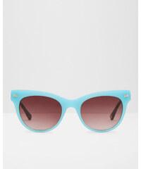 Ted Baker Katzenaugen-Brille mit Schleife Blau