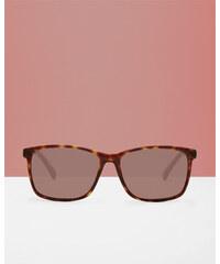 Ted Baker Viereckige Sonnenbrille Schildpatt