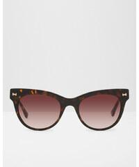 Ted Baker Katzenaugen-Brille mit Schleife Schildpatt