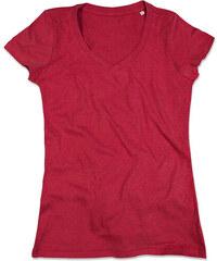 Dámské tričko Lisa - Sytě červená S