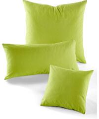 bpc living Housse de coussin Linon vert maison - bonprix