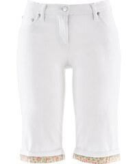 bpc bonprix collection Bermuda extensible blanc femme - bonprix
