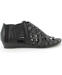 Páskové sandály s nízkým klínkem Claudia Ghizzani