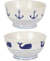 Námořnická miska, 2 druhy Styl 1