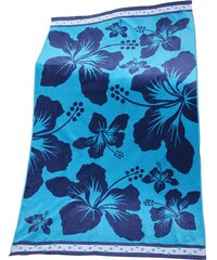 Le Comptoir De La Plage Plážová osuška Hawai modrá 100x175