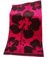 Le Comptoir De La Plage Plážová osuška Melrose Pink růžová 95x175