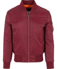 Urban Classics Basic Bomber Leichte Jacken Jacke burgundy