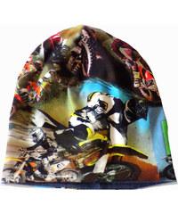 Chiaro Chlapecká oboustranná čepice - motorky