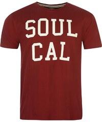 Soul Cal Tričko SoulCal Logo pán.