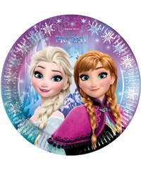 Disney Die Eiskönigin Pappteller blau in Größe UNI für Mädchen