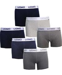 Lesara Lot de 6 boxers avec taille élastique