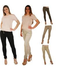 Lesara Pantalon stretch avec boutons