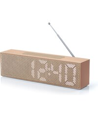 Lexon Titanium clock Radio - High Tech - cuivré