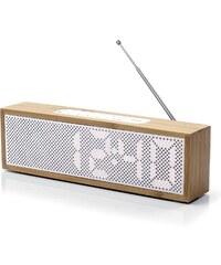 Lexon Titanium clock Radio - High Tech - blanc