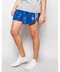 Adidas Originals - AJ6933 - Short rétro - Bleu