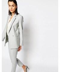 Warehouse - Blazer drapé de qualité supérieure - Gris