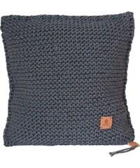 Catness Design s.r.o. Ručně pletený polštář 001 šedý 50x50 cm