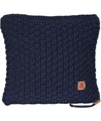 Catness Design s.r.o. Ručně pletený polštář 015 modrý 50x50 cm