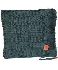 Catness Design s.r.o. Ručně pletený polštář 019 zelený 50x50 cm