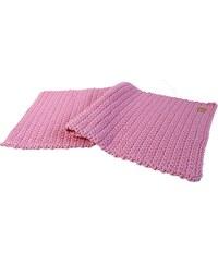 Catness Design s.r.o. Ručně háčkovaný koberec růžový 50x100 cm