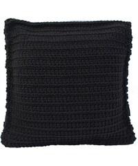 Catness Design s.r.o. Ručně háčkovaný polštář 016 černý 50x50 cm