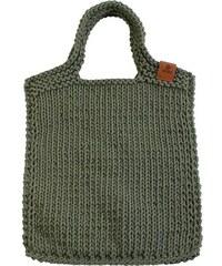 Catness Design s.r.o. Velká pletená taška 001 zelená
