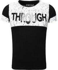 Pánské černé tričko CARISMA Through