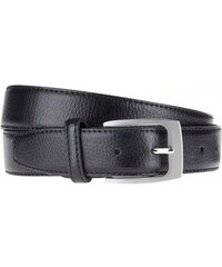 Smith Herren Ledergürtel Gürtel Breite 3 cm schwarz aus Kunstleder