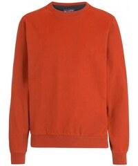 Paul R.Smith Herren Pullover Sweatshirt Comfort bequem Rundhalsausschnitt orange aus Baumwolle