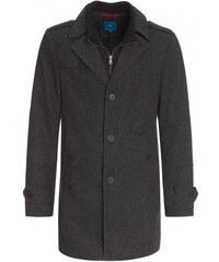 COOL CODE Herren Mantel Jacke kühle Tage / Übergang grau mit Wolle